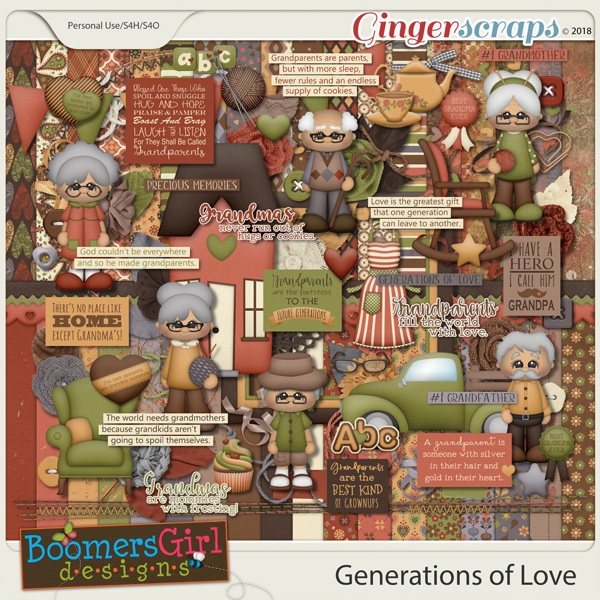Generations of Love by BoomersGirl Designs
