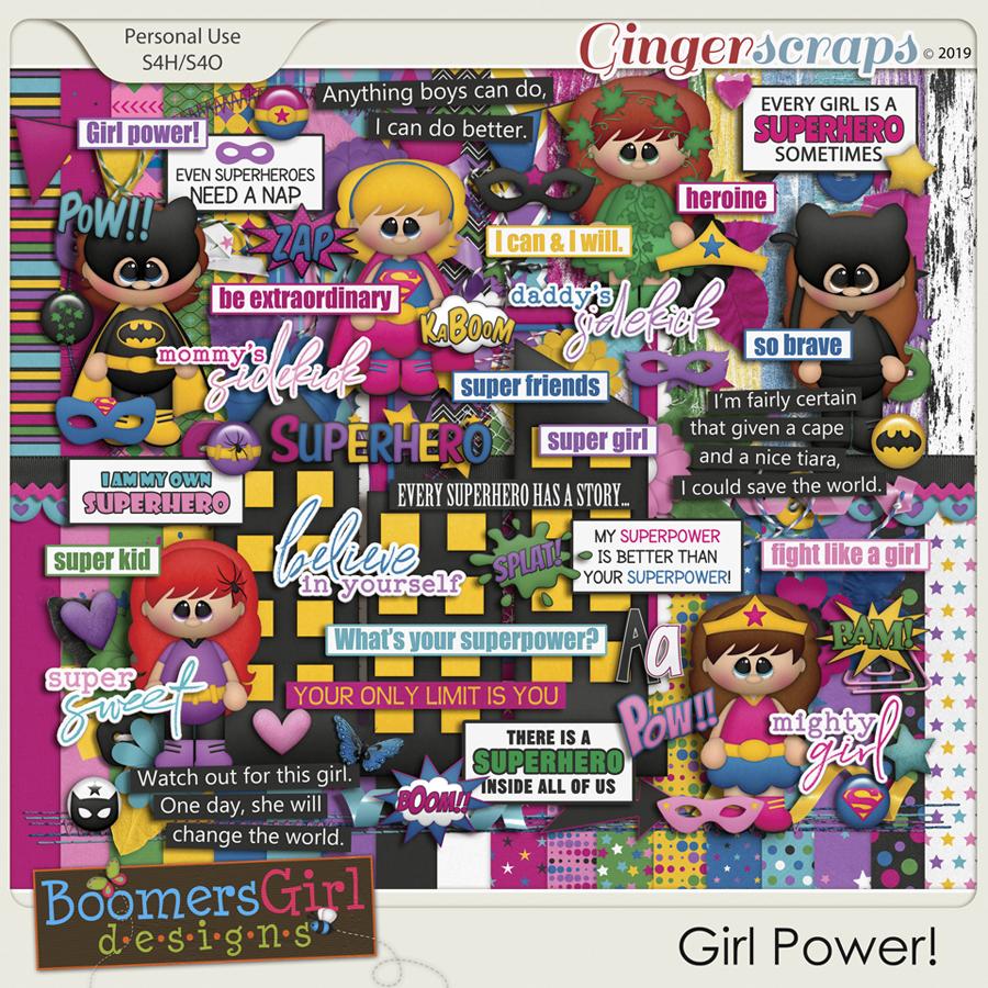 Girl Power! by BoomersGirl Designs