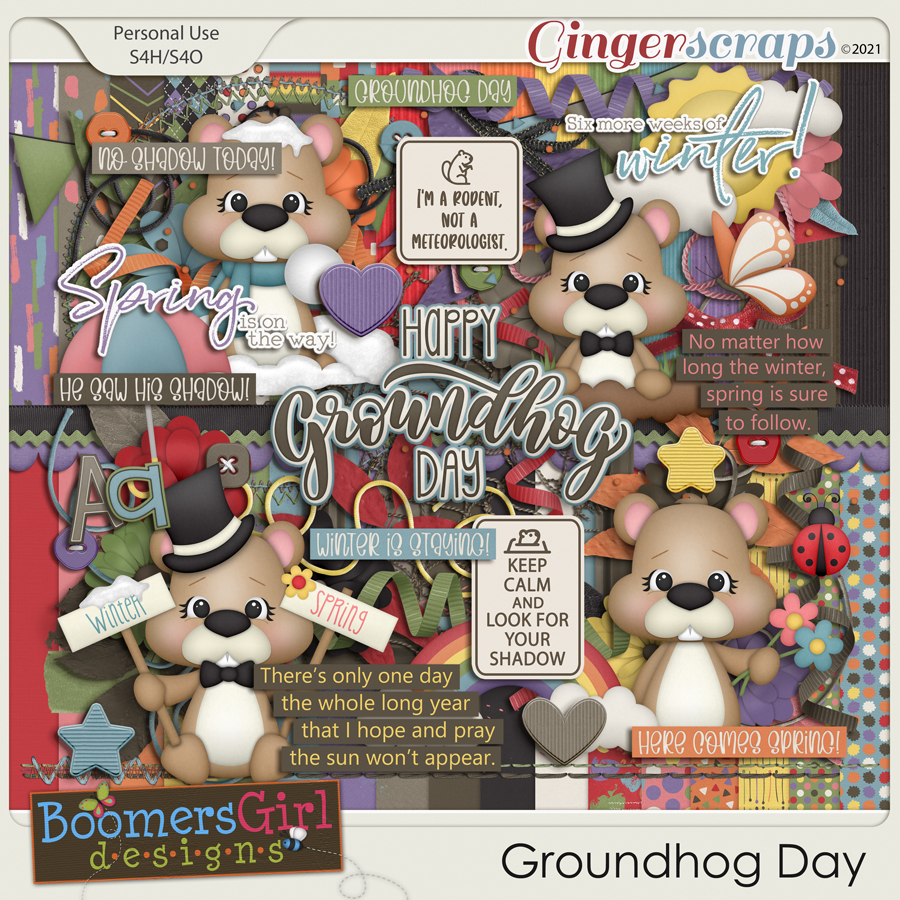 Groundhog Day by BoomersGirl Designs