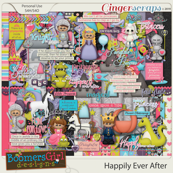 Happily Ever After by BoomersGirl Designs