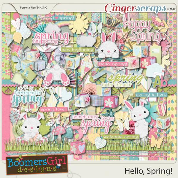 Hello, Spring! by BoomersGirl Designs