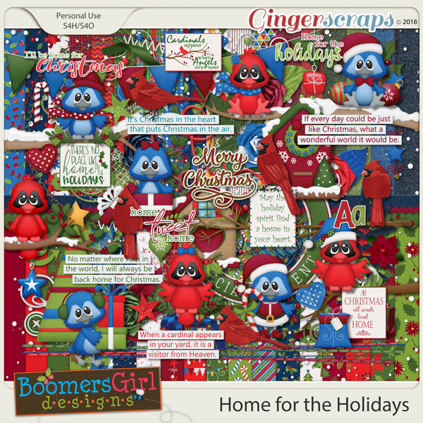 Home for the Holidays by BoomersGirl Designs