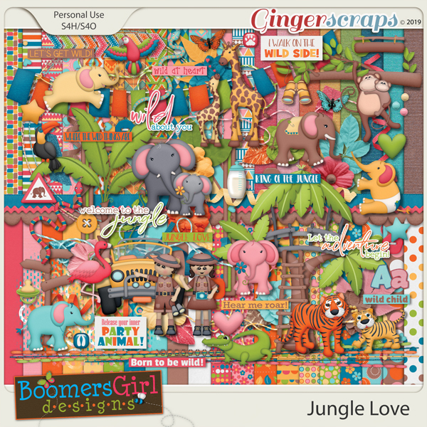 Jungle Love by BoomersGirl Designs