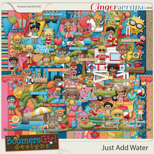 Just Add Water by BoomersGirl Designs