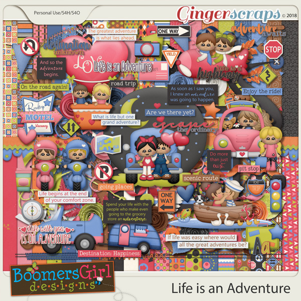 Life is an Adventure by BoomersGirl Designs