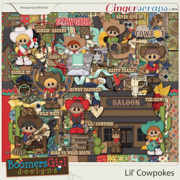Lil' Cowpokes by BoomersGirl Designs