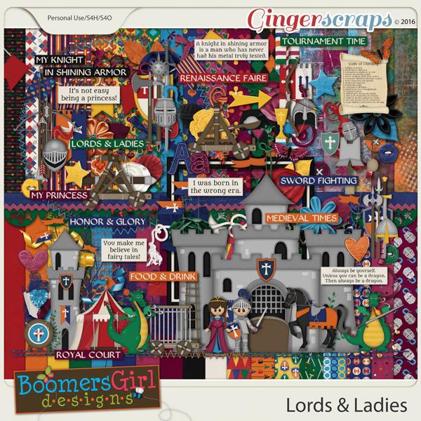 Lords & Ladies by BoomersGirl Designs