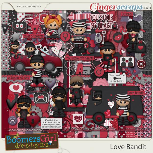 Love Bandit by BoomersGirl Designs