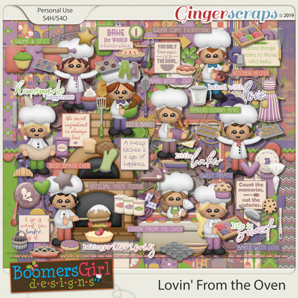 Lovin' From the Oven by BoomersGirl Designs