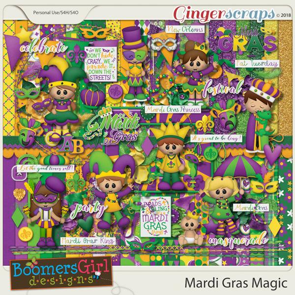 Mardi Gras Magic by BoomersGirl Designs