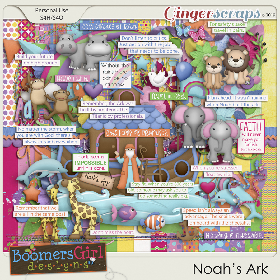 Noah's Ark by BoomersGirl Designs