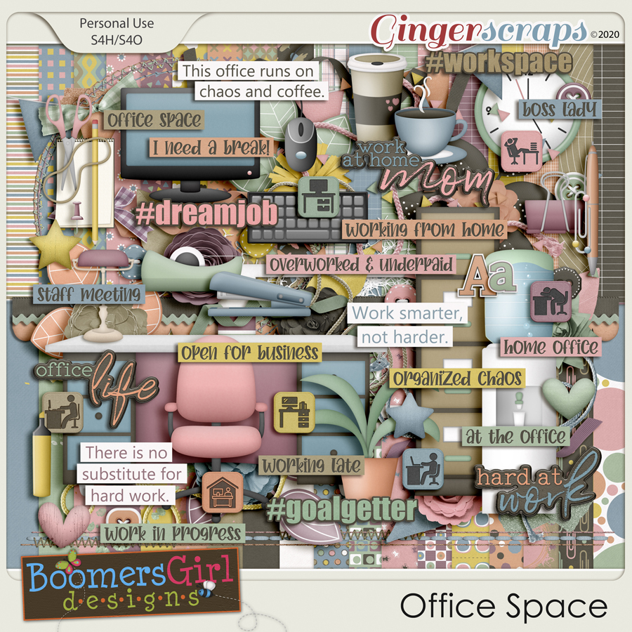 Office Space by BoomersGirl Designs