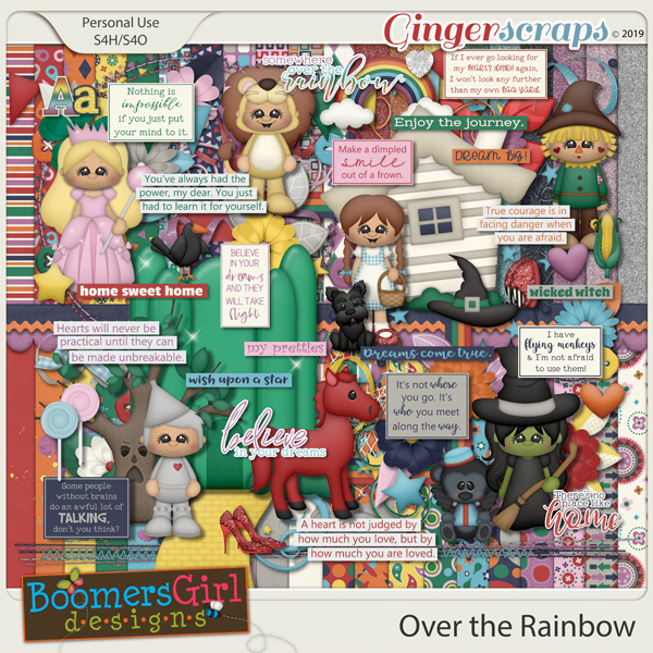 Over the Rainbow by BoomersGirl Designs