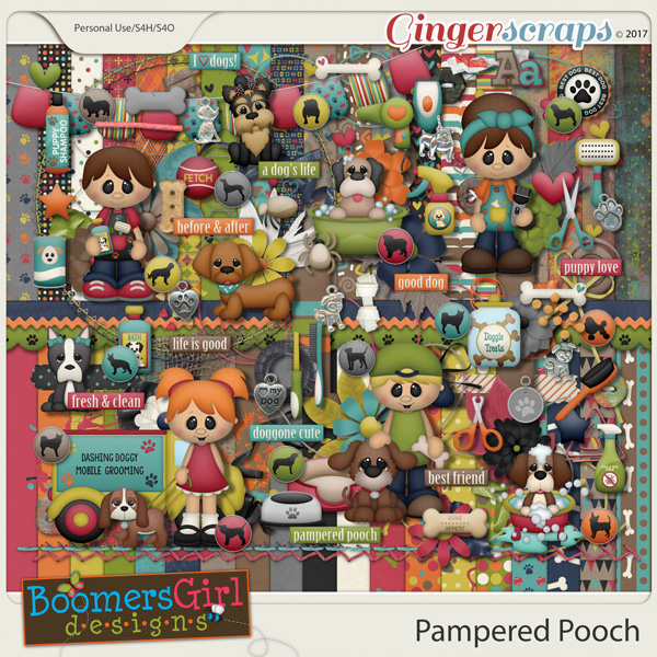 Pampered Pooch by BoomersGirl Designs