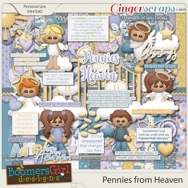 Pennies From Heaven by BoomersGirl Designs