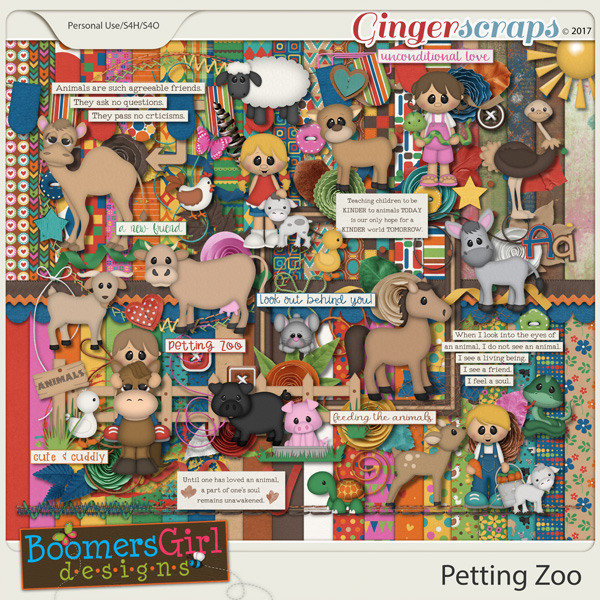 Petting Zoo by BoomersGirl Designs
