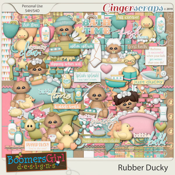 Rubber Ducky by BoomersGirl Designs