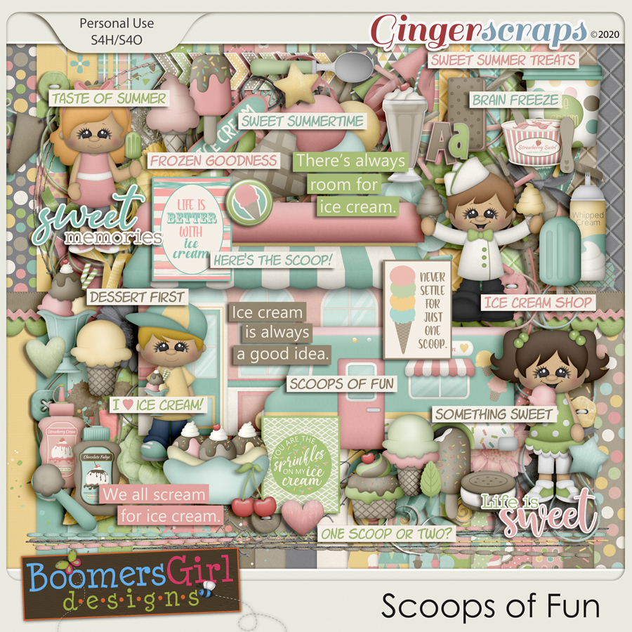 Scoops of Fun by BoomersGirl Designs