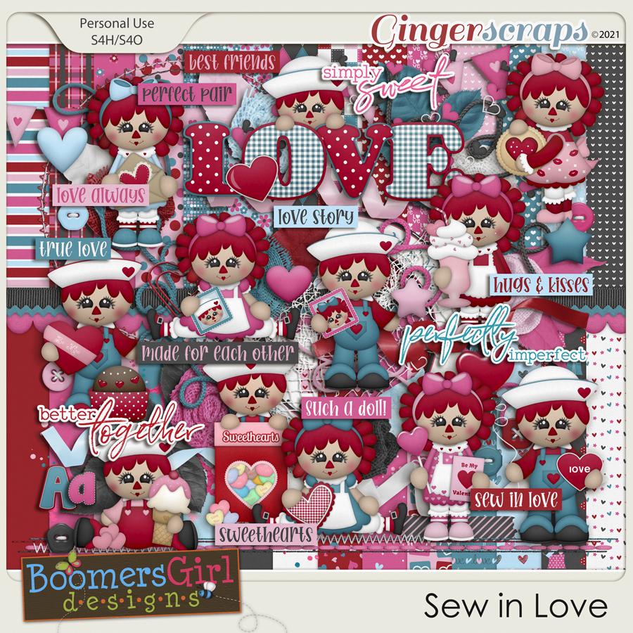 Sew in Love by BoomersGirl Designs