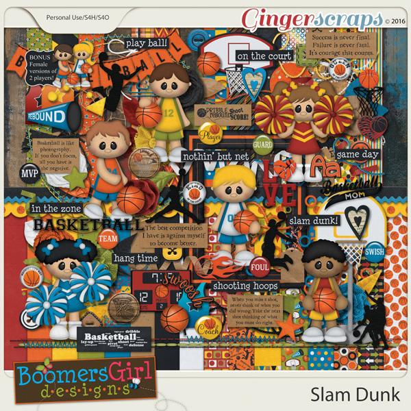 Slam Dunk by BoomersGirl Designs