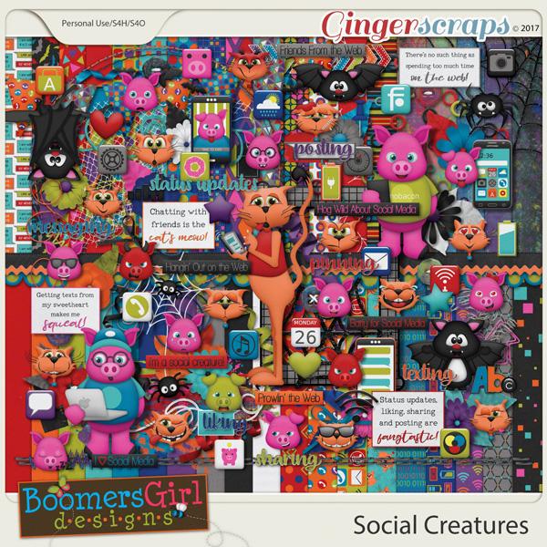 Social Creatures by BoomersGirl Designs