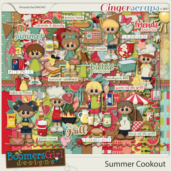 Summer Cookout by BoomersGirl Designs
