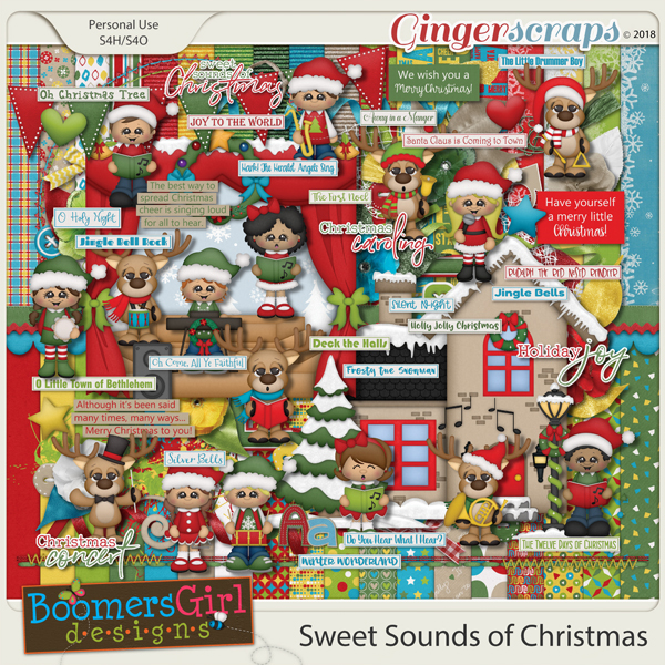 Sweet Sounds of Christmas by BoomersGirl Designs
