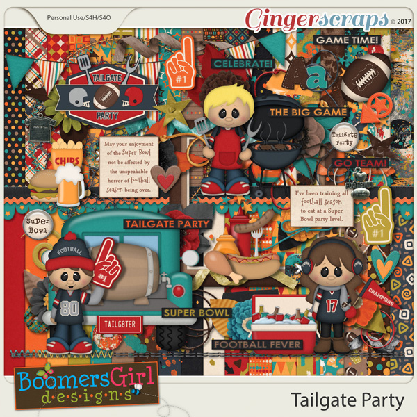 Tailgate Party by BoomersGirl Designs