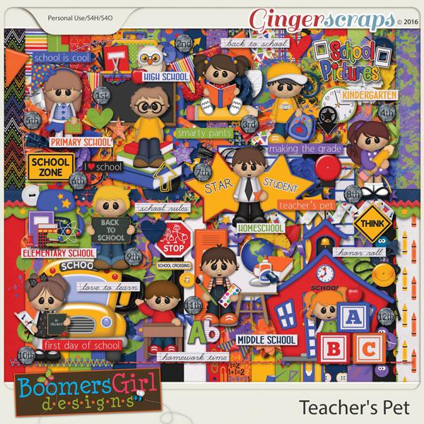 Teacher's Pet by BoomersGirl Designs