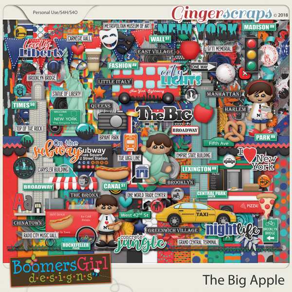 The Big Apple by BoomersGirl Designs