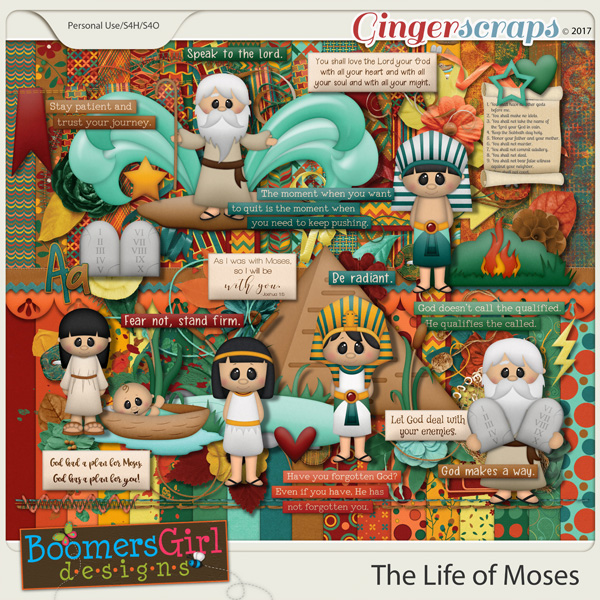The Life of Moses by BoomersGirl Designs