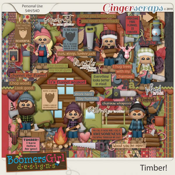 Timber! by BoomersGirl Designs