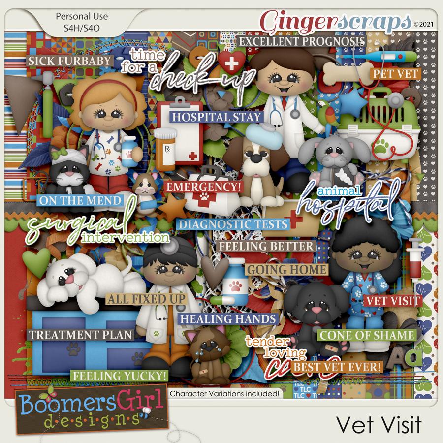 Vet Visit by BoomersGirl Designs