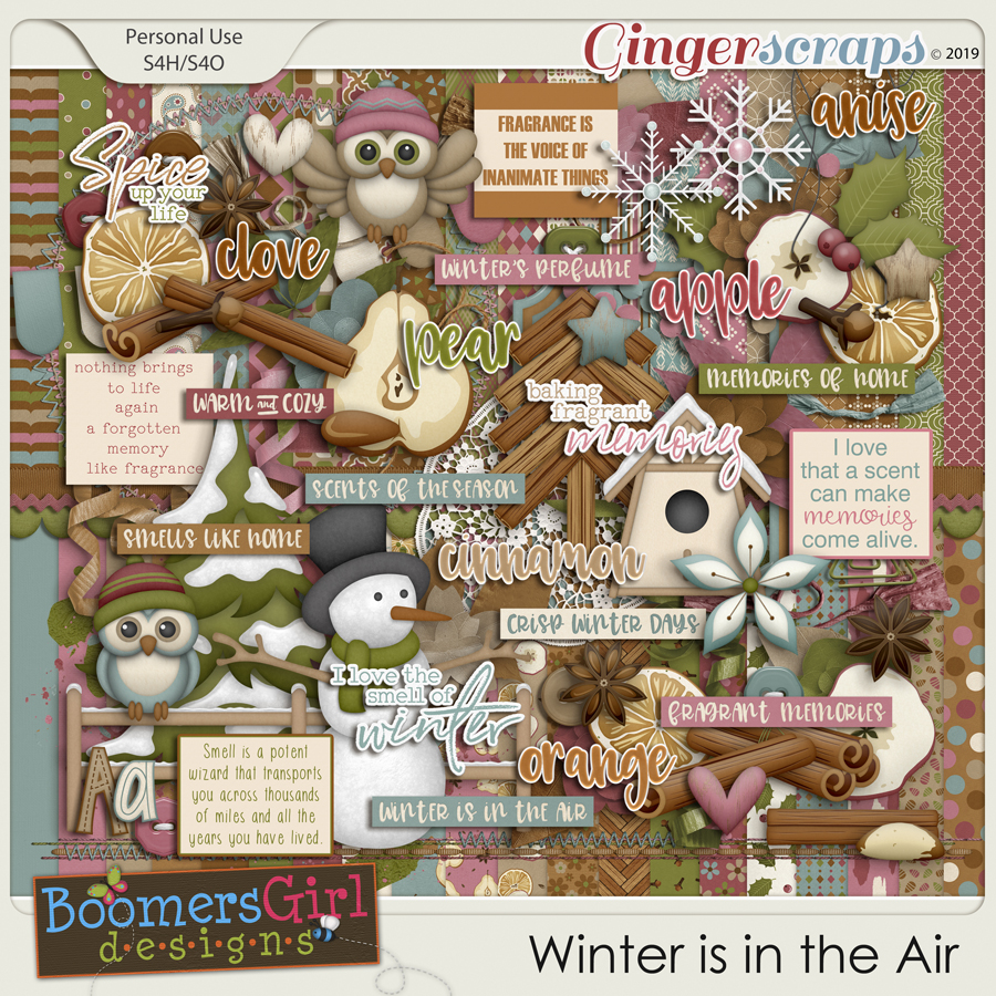 Winter is in the Air by BoomersGirl Designs