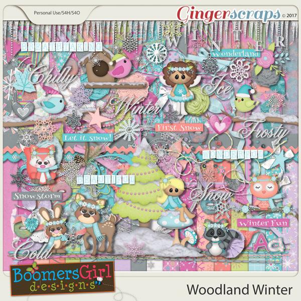 Woodland Winter by BoomersGirl Designs