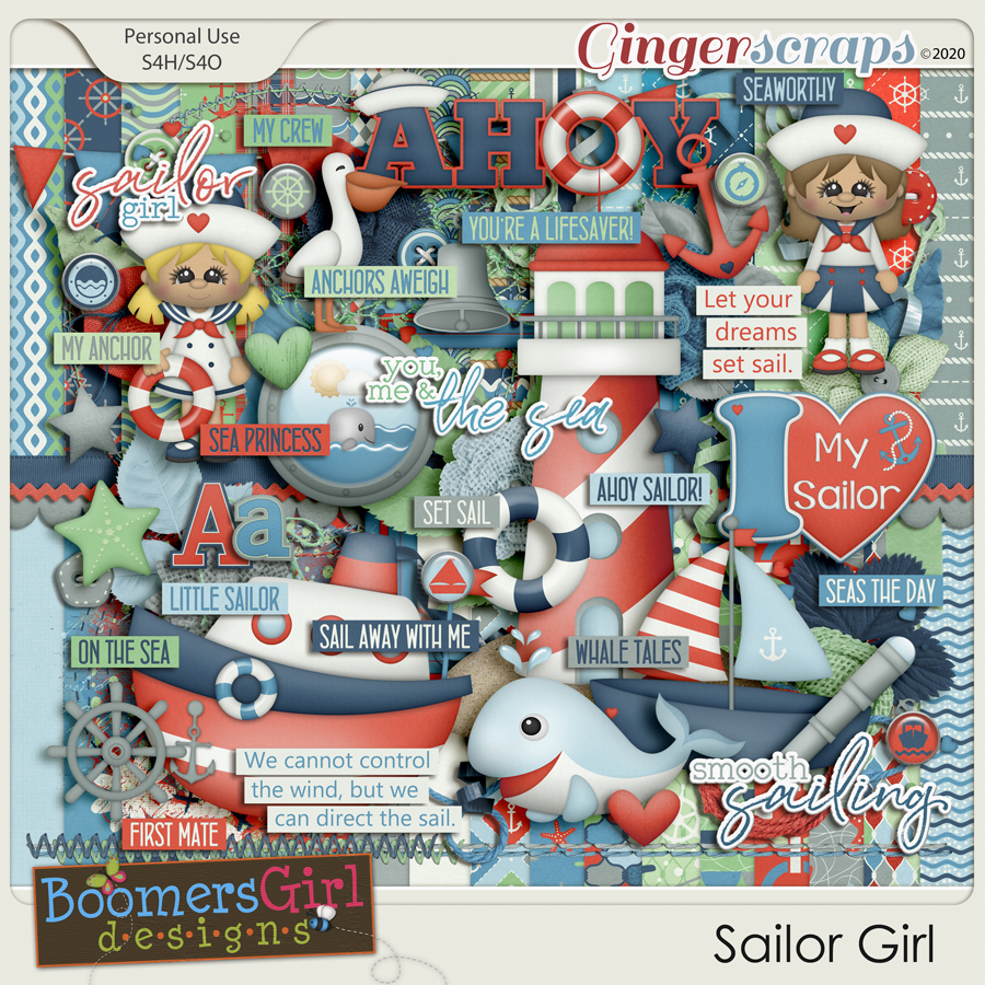 Sailor Girl by BoomersGirl Designs