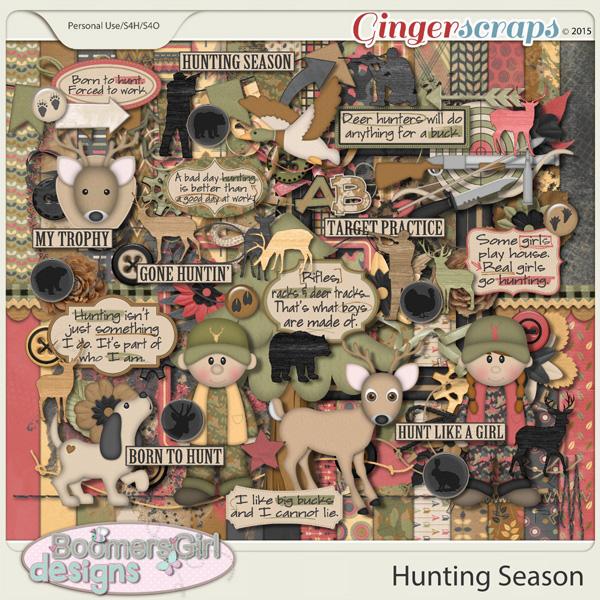 Hunting Season by BoomersGirl Designs