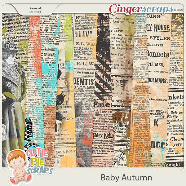 Baby Autumn-News Papers