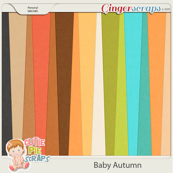 Baby Autumn-Solid Papers
