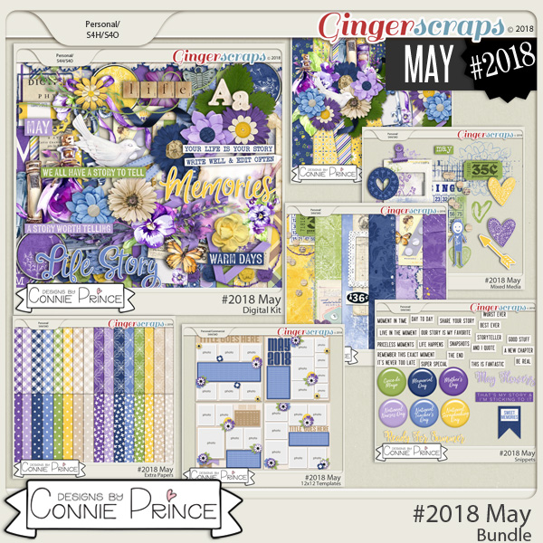 #2018 May - Bundle Collection by Connie Prince