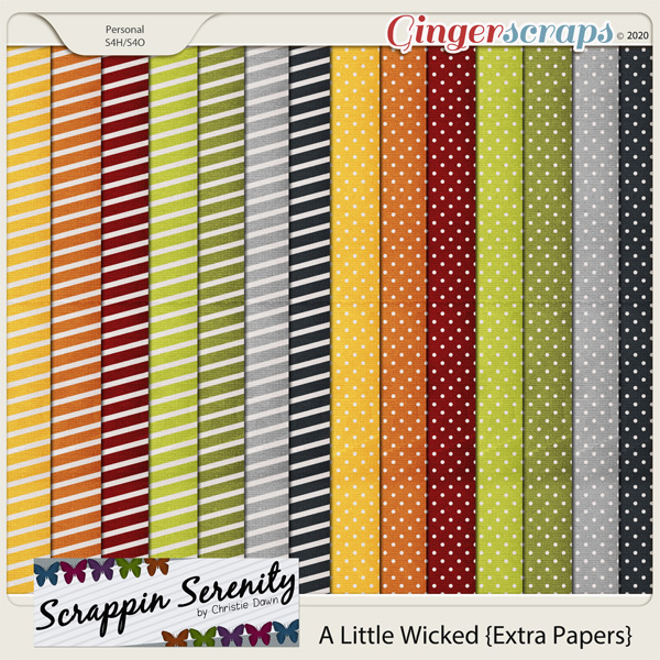 A Little Wicked Extra Papers