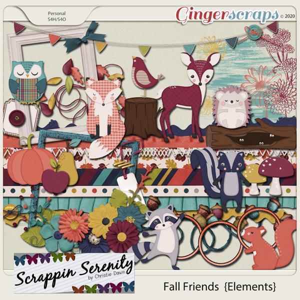 Fall Friends Elements