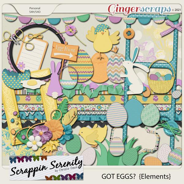 Got Eggs? Elements