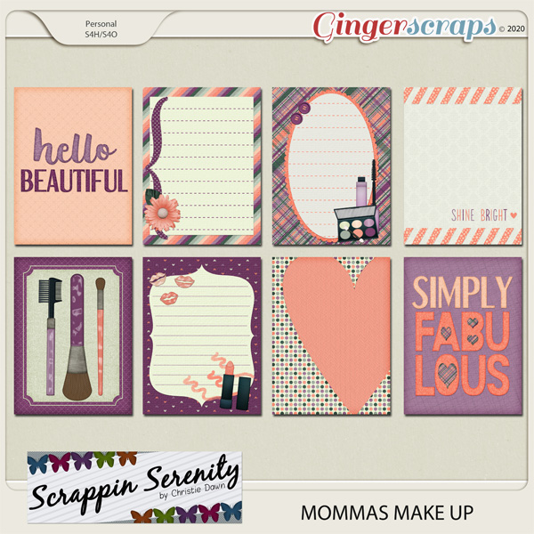 Mommas Makeup Journal Cards