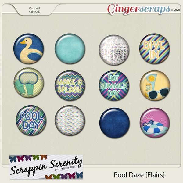 Pool Daze Flairs