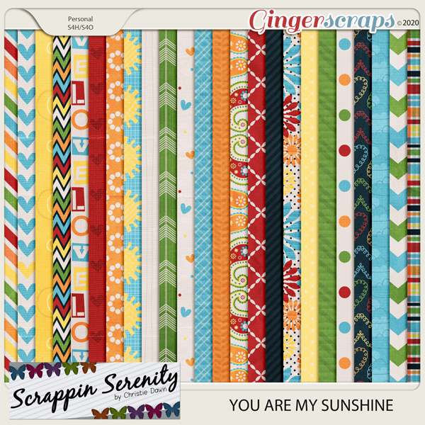 You Are My Sunshine Papers