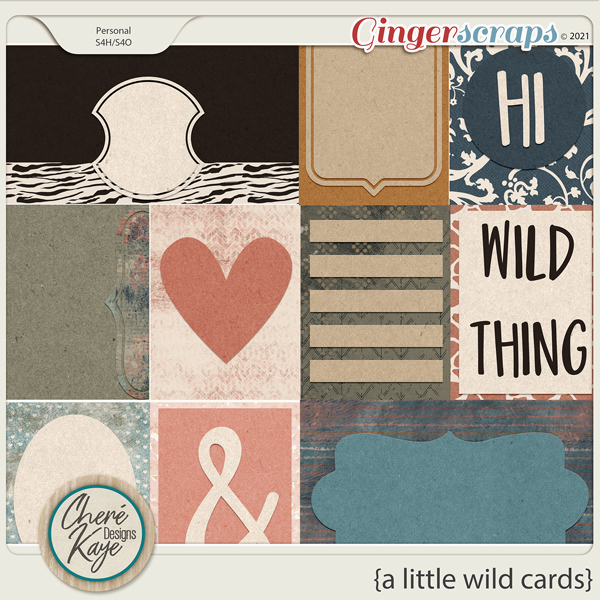 A Little Wild Cards by Chere Kaye Designs