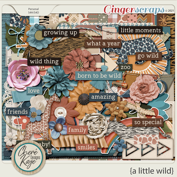 A Little Wild by Chere Kaye Designs