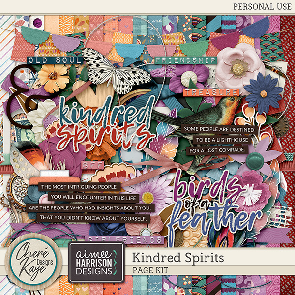 Kindred Spirits by Chere Kaye Designs and Aimee Harrison