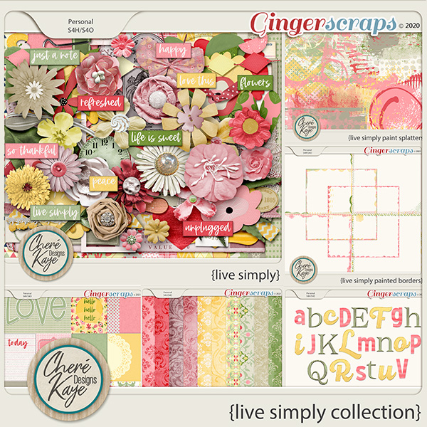 Live Simply Collection by Chere Kaye Designs